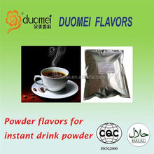 Coffee flavour powder for instant drink powder,fruit flavor powder,orange flavor powder