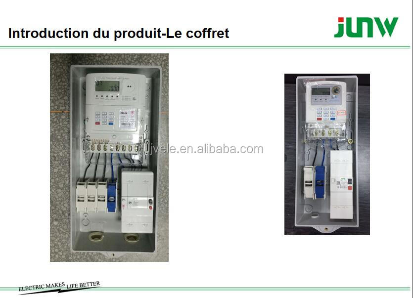 Factory direct sale Africa Single phase meter box