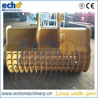NM360, NM400 wear resistant excavator bucket, excavator attachment parts for construction machine