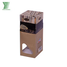 china supplier printing brown kraft paper aromatherapy bottle boxes essential oil package