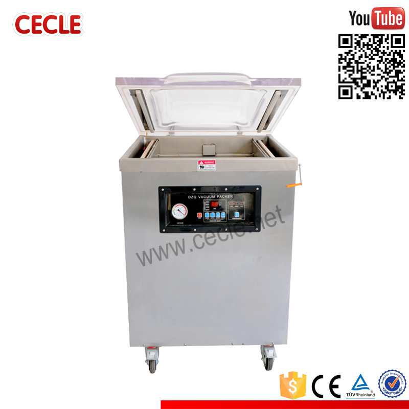 Low price fish and seafood vacuum packing machine