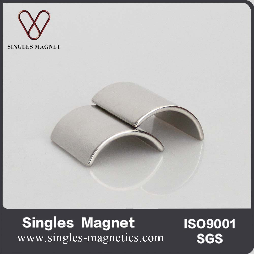 Ningbo magnet manufacturers Neodymium arc segment magnets for bldc motors