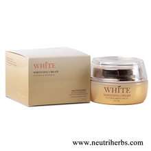 Herbal 50g Effective Skin Face Whitening Cream For Black Skin Especially Best Arbutin Skin Light Cream Price