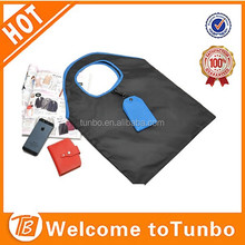 online shopping Compact cheap Shopping Bag with clip and pouch