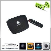 full 1080P 1080p android smart tv box android google tv box with skype