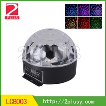 R,G,B 3 color magic ball/crystal led stage light party light