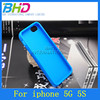 TPU jelly solid color case for iphone 5