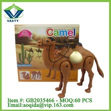 B/O toy electric animal toys plastic camel toy