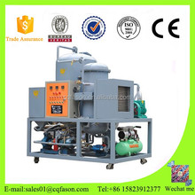 Continuous Feeding Used Cooking Oil purifying Machine