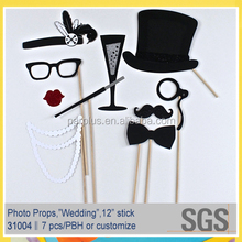 Wedding Photo Booth Props Set