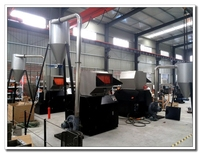 cost of large heavy plastic recycling crusher