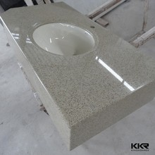 wholesale solid surface countertop material molded sink countertop