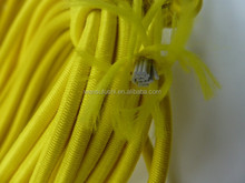 Wide Flat Gold Metallic Rubber Elastic Cord Ribbon Band