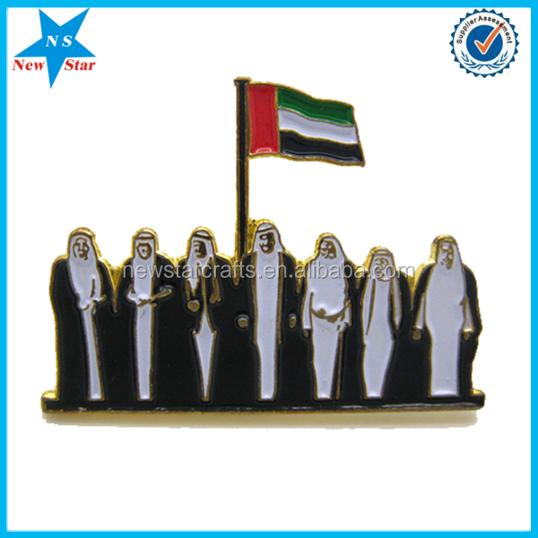 uae national day 43 magnet lapel pin