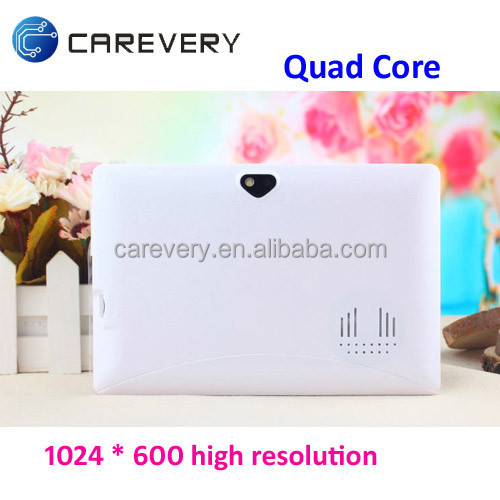"Hot Selling 7"" Android Tablet Without Sim Card/ Tablet PC Quad Core 7 Inch Android with Big Sound"