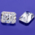 11x9mm 5carat Radiant Cut EF Color Synthetic Loose Moissanite Diamond.