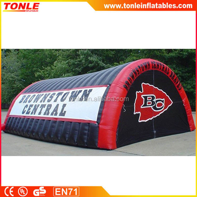 Super Bowl Inflatable Entry Tunnel, Rugby Inflatable Football Tunnel for sale, Sports Inflatable Tent