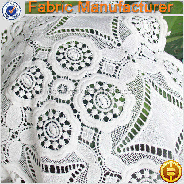 African Swiss Voile Lace Fabric,100% Cotton chemical lace fabric Embroidered fabric for garments
