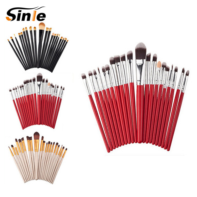 Beauty Personal Care Soft And Comfortable Powder Makeup tools Make-up Toiletry Kit 20pcs Cosmetic Brush