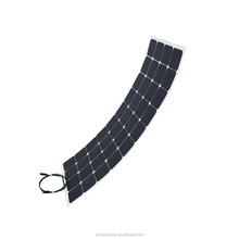 High efficiency flexible thin film solar panel 130W