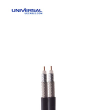 Anealed Copper Conductor 75ohm Twin RG6 Coaxial Cable