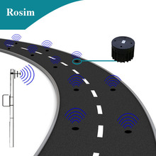 Rosim traffic detection system wireless vehicle detector sensor for traffic monitoring