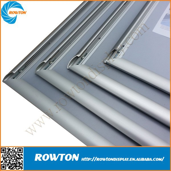 25mm profile aluminum extrusion poster snap frame