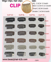 high quality hair clip for clip in hair extension free sample