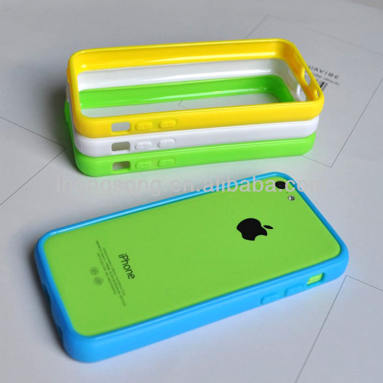 wholesale tpu protection bumper for iphone5