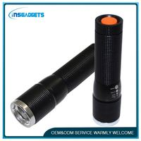 flashlight with adjustable zoom ,H0T157 hand held strobe light