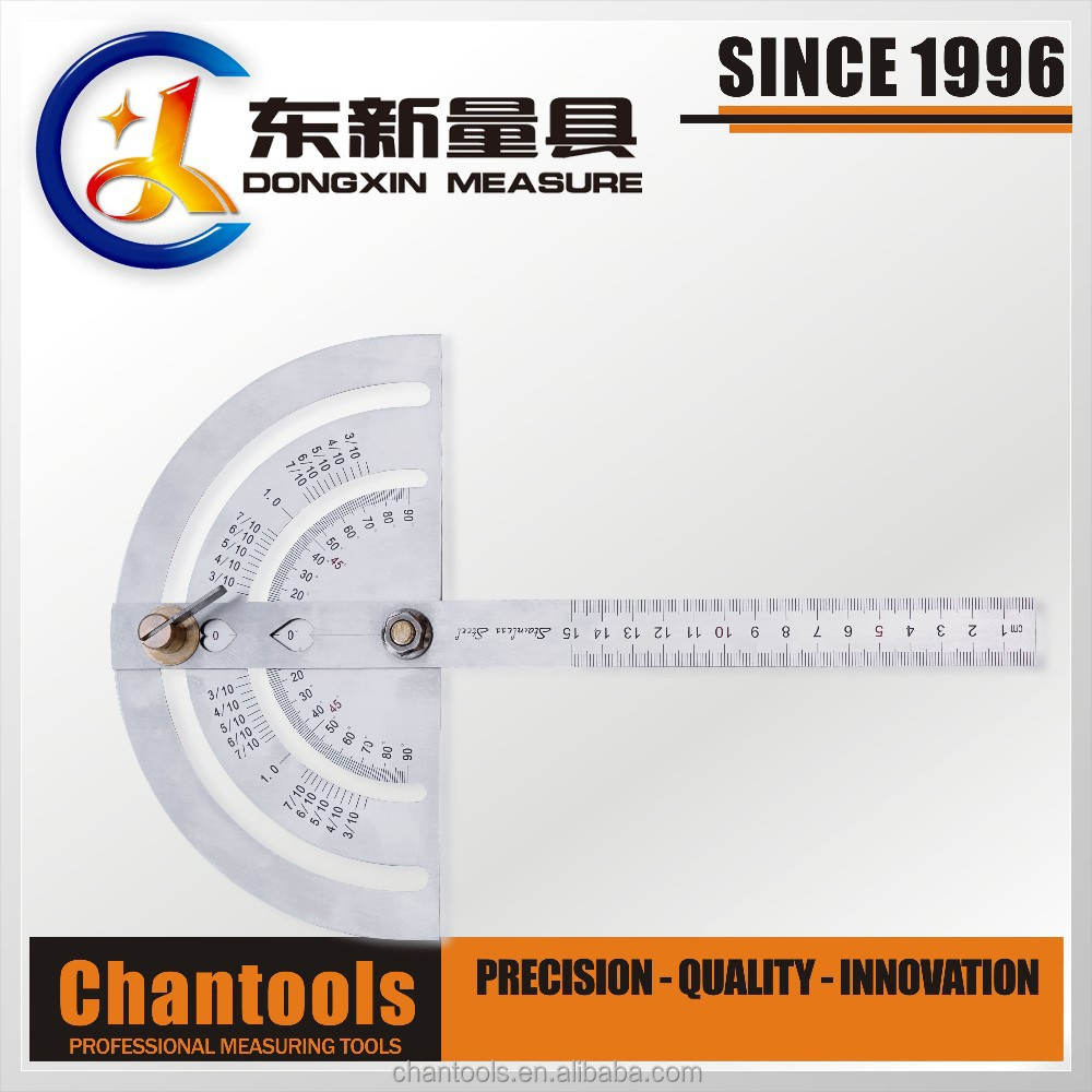 QDX46 Combination Protractor/Angle Ruler/Measuring Tool