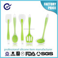 Silicone Kitchen Utensil Set 5 Piece heat resistant Non-Stick Baking Tool Silicone Utensils Cooking Tools