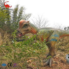 certificated weatherproof outdoor jurassic theme park large robotic dinosaur