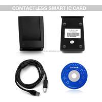Best Seller ZCS-IC02 USB smart RFID Card encoder/reader, NFC card reader