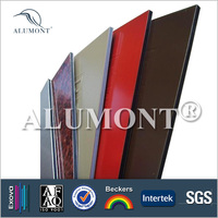 exterior decoration acp fiberglass wall cladding decorative panels with low price