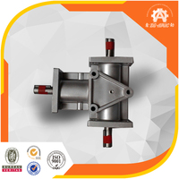 Fastest delivery China factory Low Noise & High Speed right angle ratio 4:1 Spiral Bevel speed variator gearbox