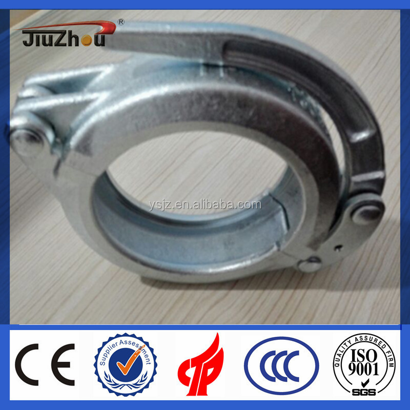 Inner surface hardening CIFA Concrete Pump Pipe Quick Release Clamps