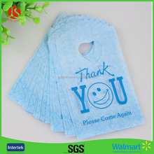 Hot Sale New Style Wholesale 50pcs lot Blue Thank You Small Gift Pouches