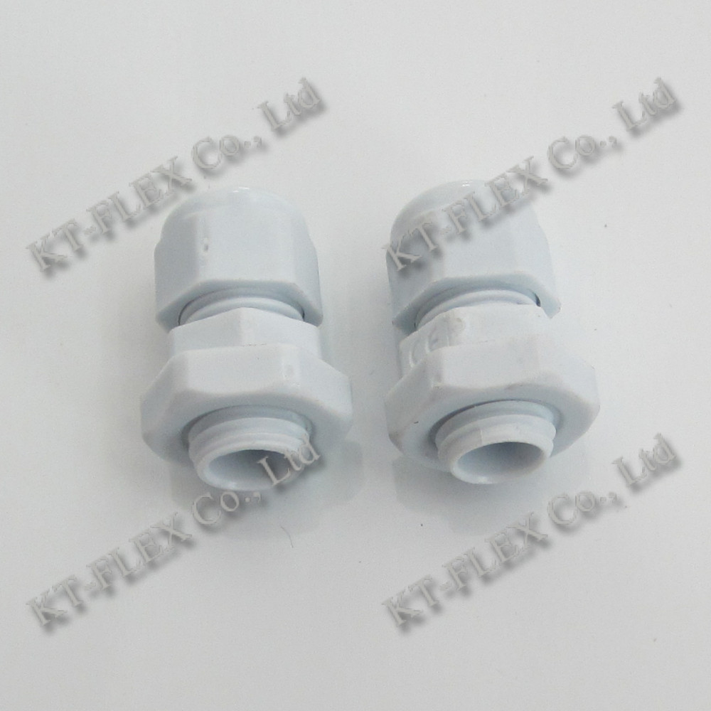 IP68 Plastic Material PG9 Nylon Cable Gland