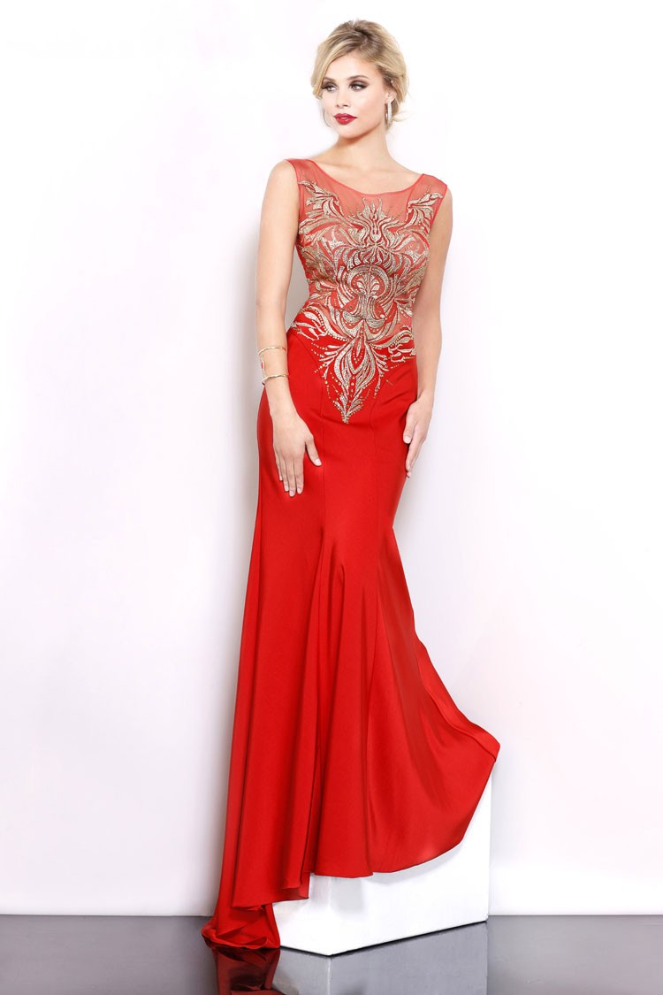 Western Style Long Mermaid Sexy Maxi Evening Dress Muslim asian mother of bride evening dress