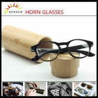 black buffalo horn plate eyeglasses natural luxury horn sunglasses