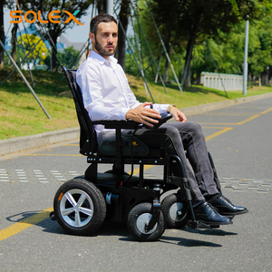 Electric Omagnetic Brakes Medical Light Weight Equipment Rehabilitation Metal Wheel Chair