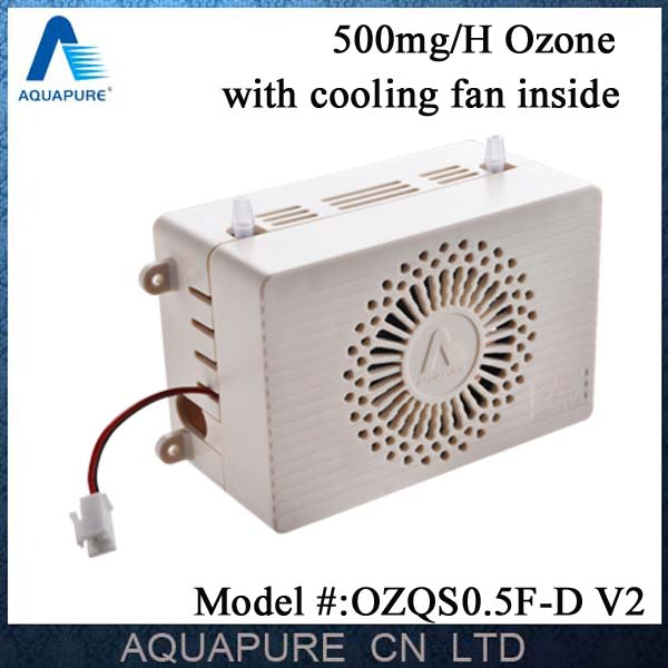 500mg corona discharge ozone generator for air/water treatment