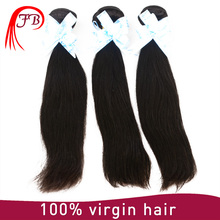 Unprocessed virgin Brazilian silky straight hair 100% human hair weaving High quality and Cheap remy human