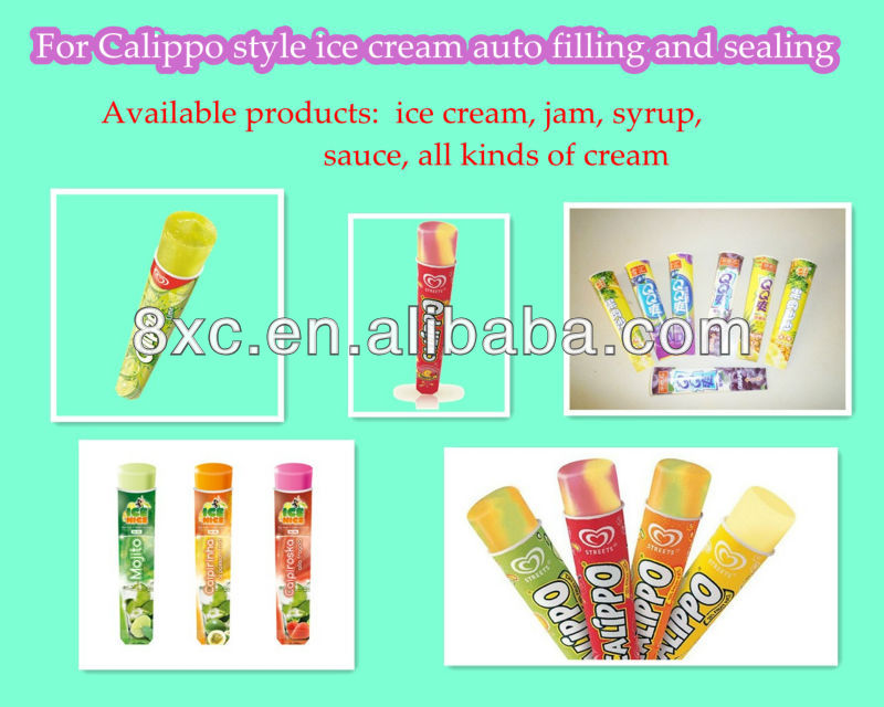 CFDB-6 Calippo ICE CREEAM Filling Machine in filling machines