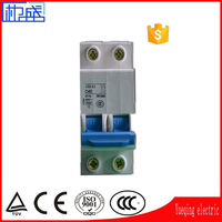 Best price mcb mini circuit breaker switch electric mcb 1P 2P 3P 4P 1A 6A 32A 63A Power Distribution Equipmen