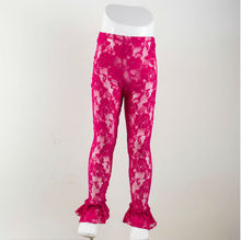 New style Lovely Petti Lace Pants Cute lace legging with ruffles