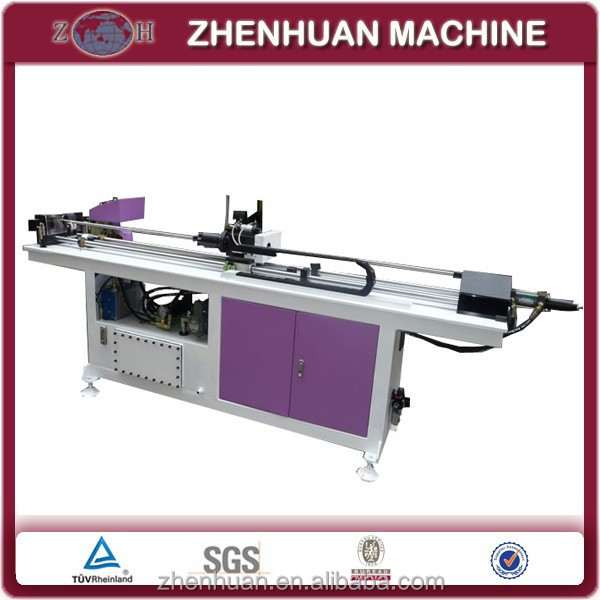 Hot sale copper tube collaring machine for round stainless steel pipe