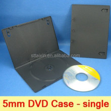 5.2mm single black plastic dvd storage/unique envelopes
