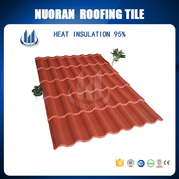 Chines Red Clay Solar Roof Tile